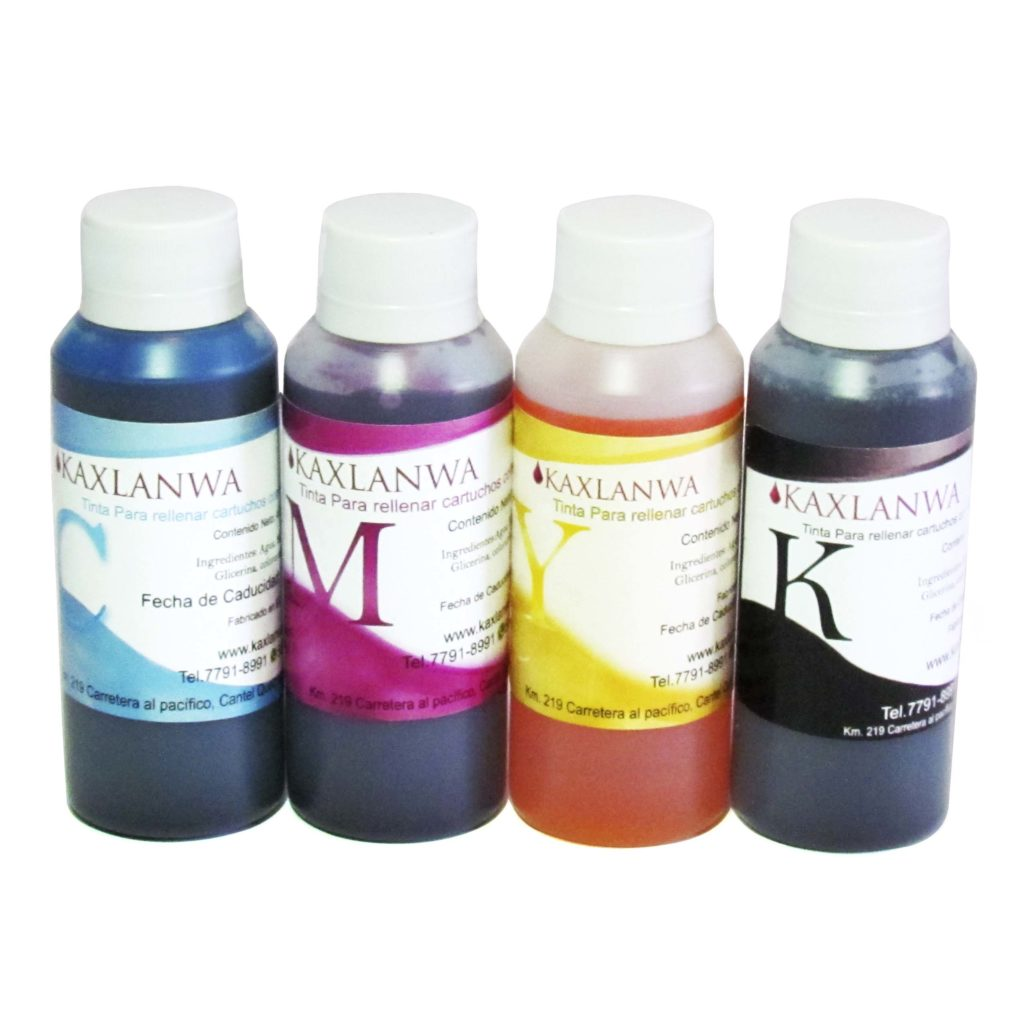 Tinta Comestible 4 Oz. CMYK /